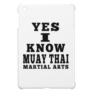 Yes I Know Muay Thai iPad Mini Covers