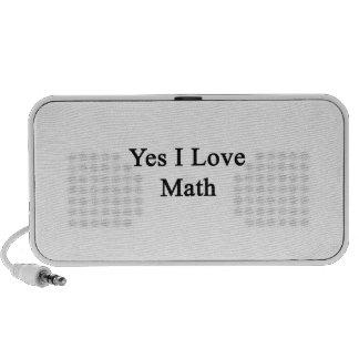 Yes I Love Math Mini Speakers