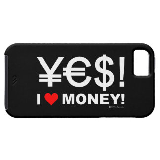 Yes! I love money! iPhone SE/5/5s Case