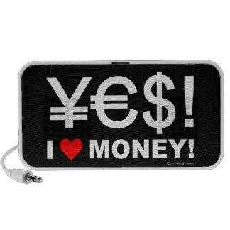 Yes! I love money! Laptop Speakers
