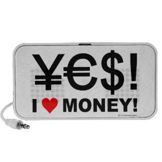 Yes! I love money! Portable Speakers