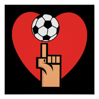 Yes I Love Soccer T shirts and Gifts Print