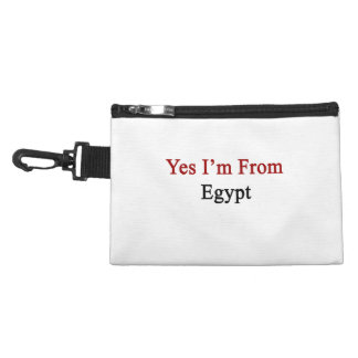Yes I m From Egypt Accessory Bag