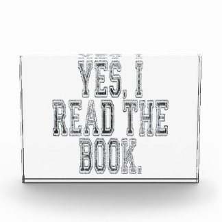 Yes I Read the Book Grey Award