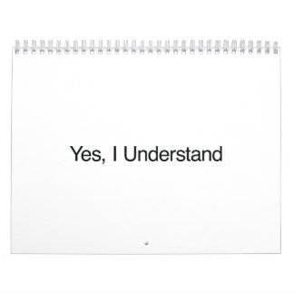 Yes, I Understand.ai Calendar