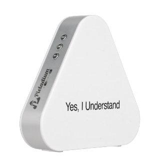 Yes, I Understand.ai Speaker
