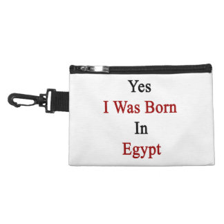 Yes I Was Born In Egypt Accessories Bags