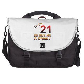 Yes I'm 21 so buy me a drink ! Laptop Commuter Bag