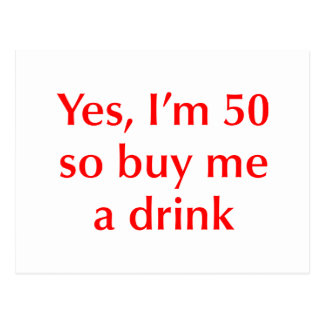 yes-Im-50-opt-red.png Postcard