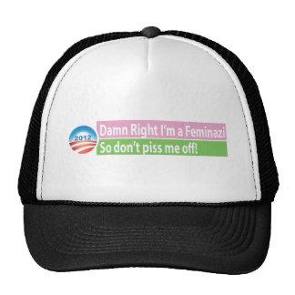 Yes I'm a Feminazi! Trucker Hat