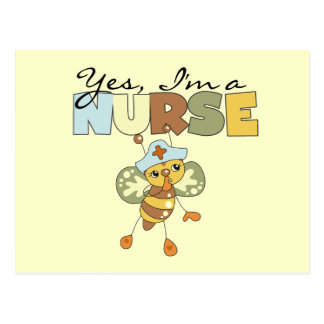 YES I'm a Nurse T-shirts and Gifts Postcard
