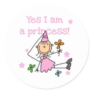 Yes I'm a Princess sticker