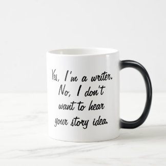 Yes, I'm a Writer Magic Mug