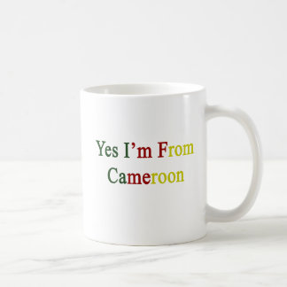 Yes I'm From Cameroon Mugs