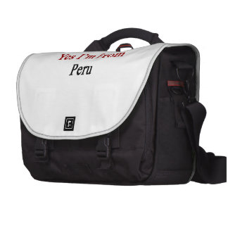 Yes I'm From Peru Bag For Laptop