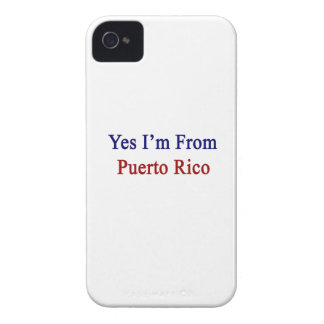 Yes I'm From Puerto Rico iPhone 4 Cover