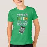 Yes I'm Irish, Yes I Love Hockey T-Shirt