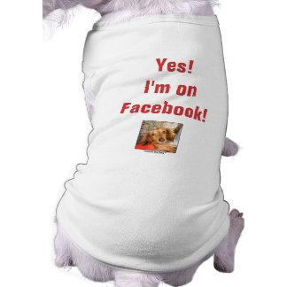 Yes!  I'm onFacebook! Tee