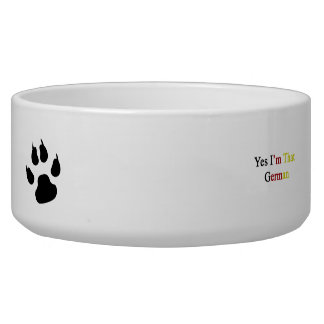 Yes I'm That German Dog Water Bowls