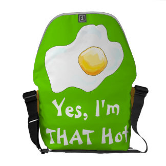 Yes, I'm THAT Hot! Courier Bag