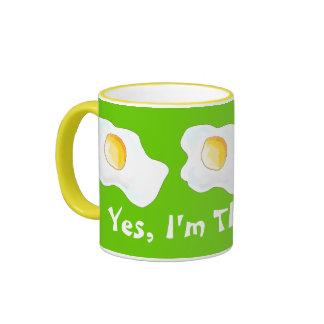 Yes, I'm THAT Hot! Ringer Mug