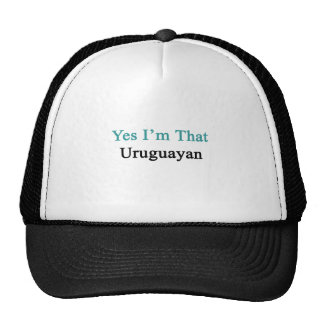 Yes I'm That Uruguayan Hat