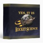 Yes, It Is Rocket Science Binder