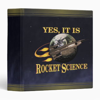 Yes, It Is Rocket Science Binder
