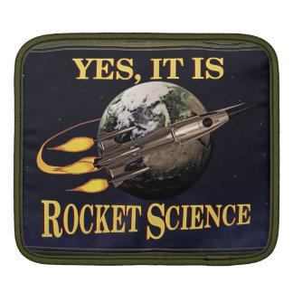 Yes, It Is Rocket Science iPad Sleeves
