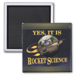 Yes, It Is Rocket Science Magnet