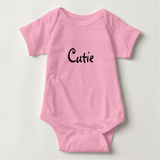 Yes it is true, I'm a cutie baby girl T-shirt
