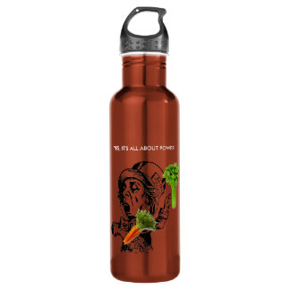 YES, ITS ALL ABOUT HEALTH - CARROT ORANGE 24OZ WATER BOTTLE