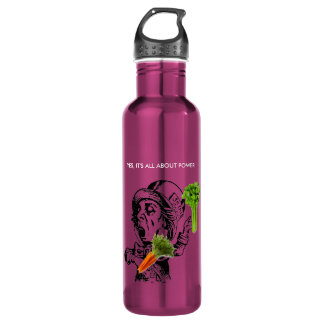 YES, ITS ALL ABOUT HEALTH POWER DELICIOUS JUICING 24OZ WATER BOTTLE