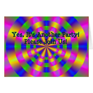 Yes, It's Another Party! - Customized Card