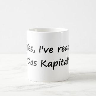 "Yes I've read ""Das Kapital"". Coffee Mug"