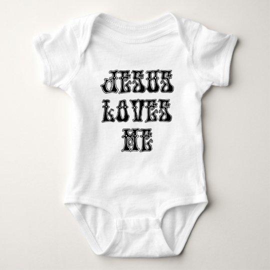 Yes!  Jesus Loves me! Baby Bodysuit