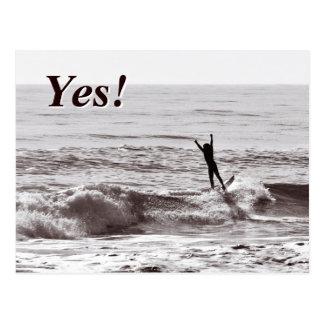 Yes! Joy of Success Postcard