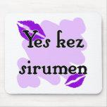 Yes kez sirumen - Armenian - I Love You Mouse Pad