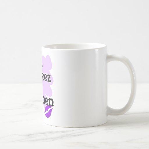 Yes kez sirumen - Armenian - I Love You Mug