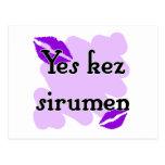 Yes kez sirumen - Armenian - I Love You Post Cards