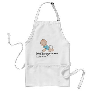 Yes Libertarians Like (to eat) Babies Adult Apron