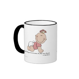 Yes Libertarians Like (to eat) Babies Ringer Mug
