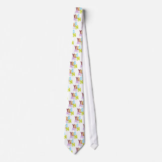 Yes man obedient supporter flunky fun word art tie