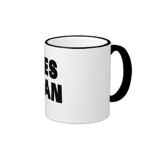 Yes Man Ringer Coffee Mug