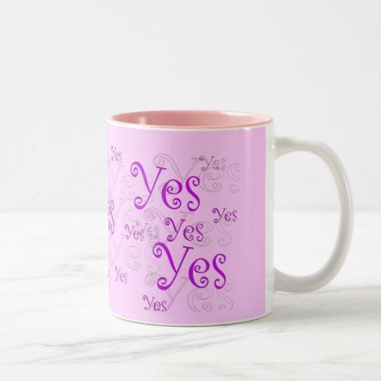 Yes Mug