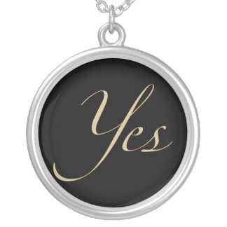 Yes Personalized Necklace