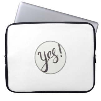 YES! Neoprene Laptop Sleeve 15 inch