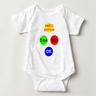 Yes No Buttons The MUSEUM Zazzle Gifts Baby Bodysuit