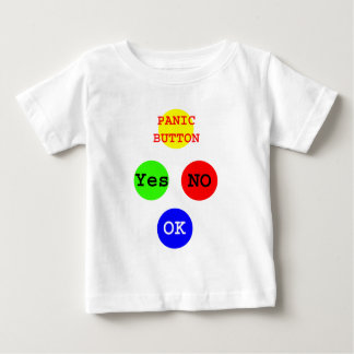 Yes No Buttons The MUSEUM Zazzle Gifts Baby T-Shirt