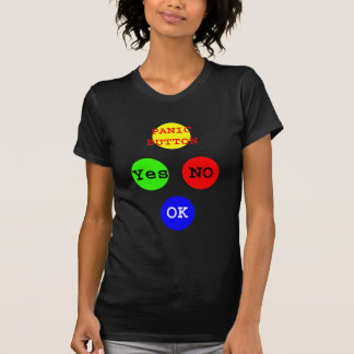 Yes No Buttons The MUSEUM Zazzle Gifts T-Shirt